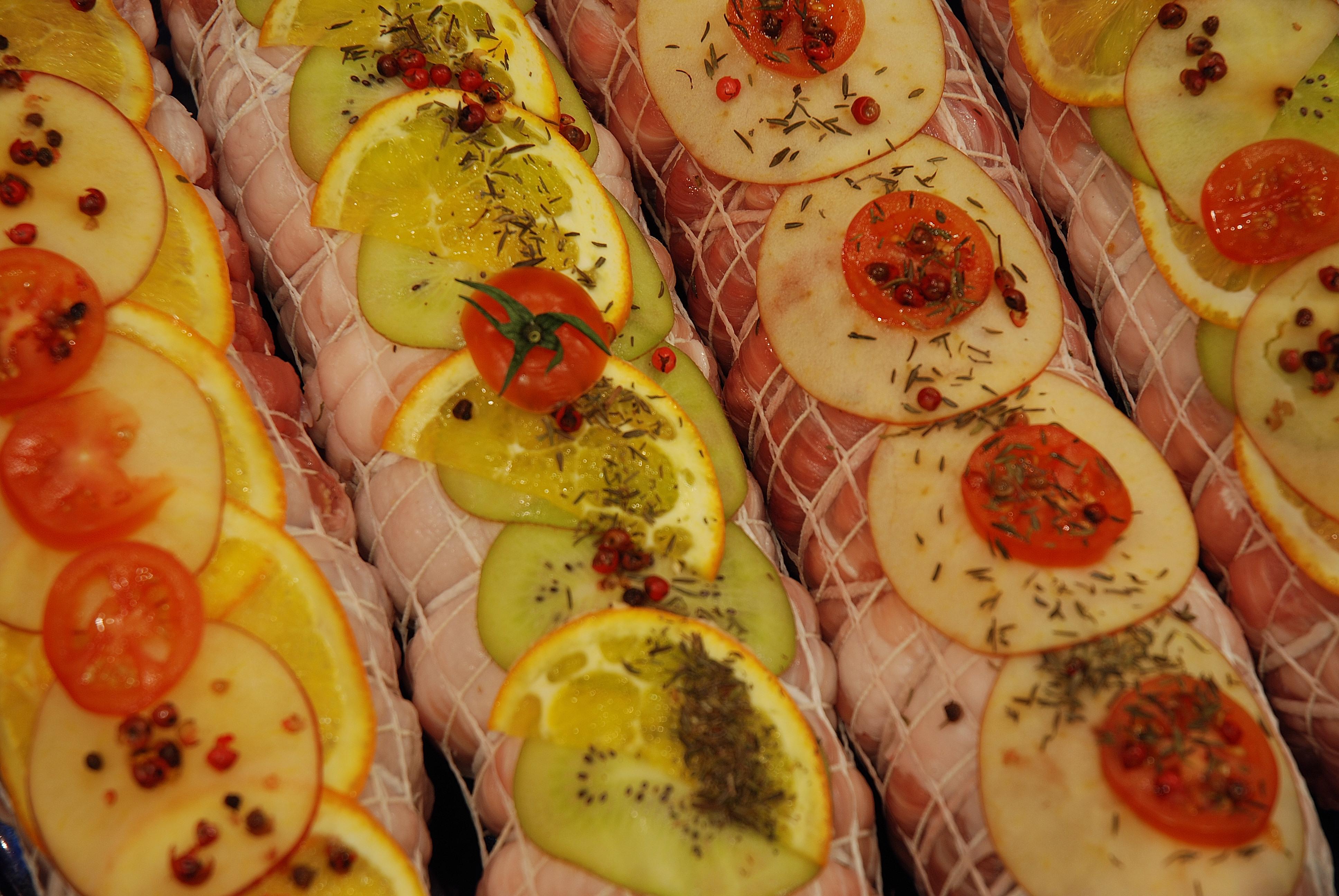 Solomillo de cerdo relleno artecarnesana for Cocinar solomillo ternera