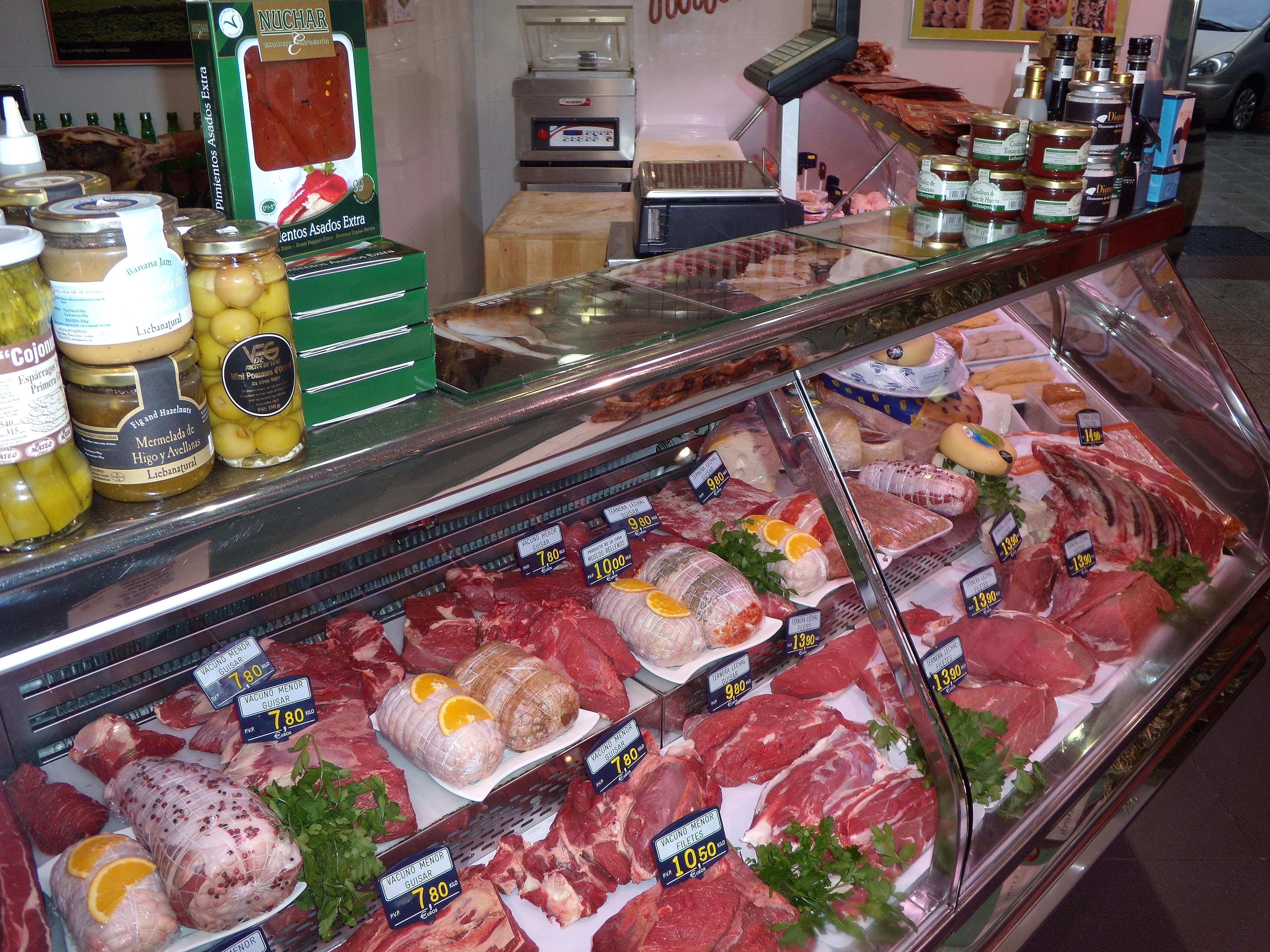 Como Decorar Una Carniceria En Navidad.Carne Roja De Cantabria Artecarnesana Pagina 2